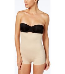 maidenform women's firm control fat free dressing high waist boyshort 2107