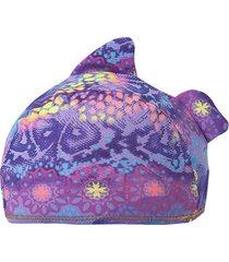 gorro de baño violeta  offcorss