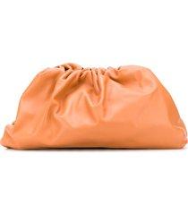 bottega veneta the pouch clutch - orange