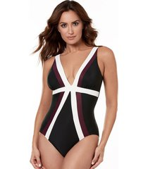 spectra trilogy firm control one-piece swimsuit