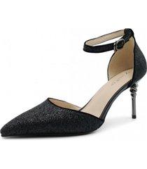 zapato de fiesta ibiza negro toffy co.
