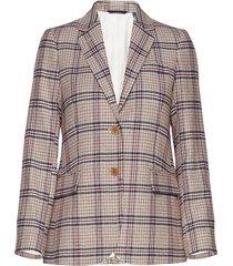 d1. washable str wool reg blazer blazer colbert multi/patroon gant