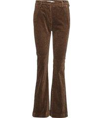heartbreak pantalon met rechte pijpen bruin munthe