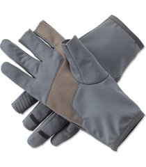 trigger finger softshell gloves, x large