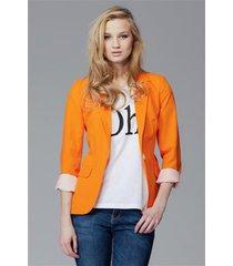 żakiet janette ii m094 pomarańczowy