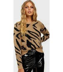 object collectors item objgraz animal l/s pullover pb8 stickade tröjor