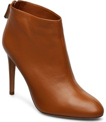 nimia shoes boots ankle boots ankle boots with heel brun pura lopez