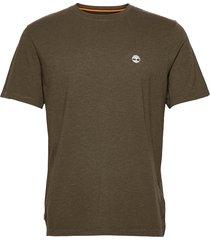 gd jersey tee t-shirts short-sleeved grön timberland