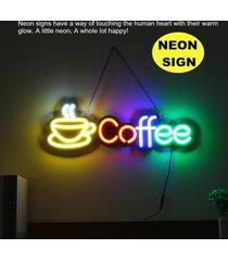 café barra libre de neón muestra de la luz bar salón de fiestas inicio decoración de la pared 110-240 - no especificado