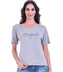 camiseta bloom bonjour feminina