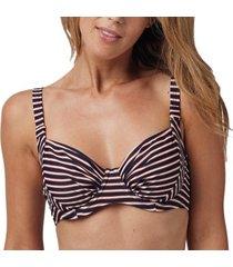 abecita retro navy unique wire bikini bra * gratis verzending *