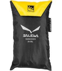 cubre mochilas 20-35 lt amarillo salewa