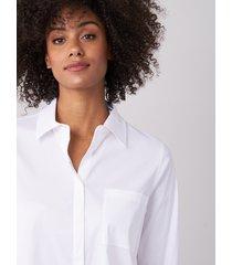 overhemd met borstzak