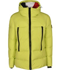 rossignol classic hooded padded jacket