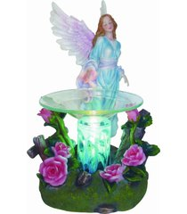 blue angel oil/tart warmer - use with scentsy and yankee candle wax