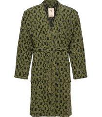 the machu pichu robe ochtendjas badjas groen oas