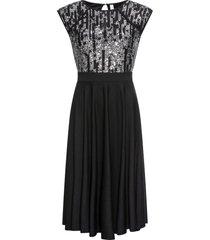 abito elegante con paillettes (nero) - bodyflirt boutique