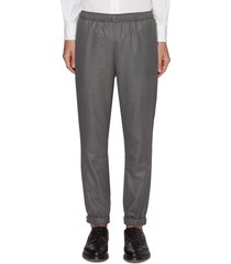 super 120's twill elasticated pants