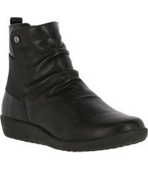 botin leather tian negro hush puppies
