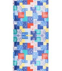 ultralight beach towel bandana color print