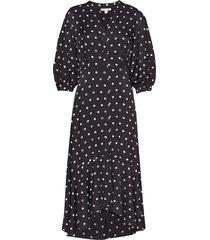 vivian jurk knielengte zwart dagmar