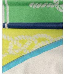 superior neon tiles oversized beach towel bedding