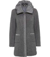 giacca lunga in bouclé (grigio) - bpc selection
