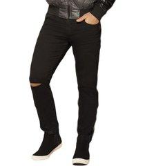envío gratis pantalon matt negro para hombre croydon