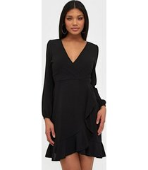 ax paris v neck flounce dress skater dresses