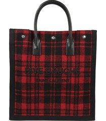 saint laurent logo shopper bag