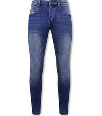 skinny jeans true rise stretch spijkerbroek a