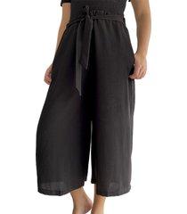 pantalón cullote para mujer x49315