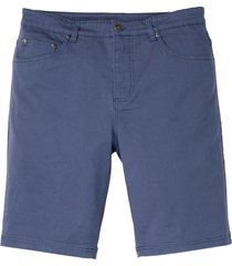 bermuda elasticizzati classic fit (blu) - bpc bonprix collection