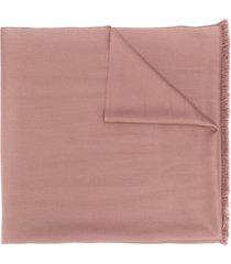 n.peal lightweight cashmere scarf - neutrals