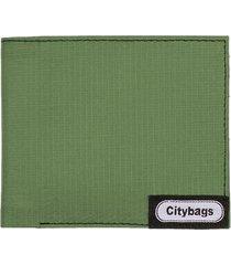 billetera hombre verde militar