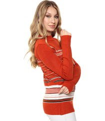 sweater naranja nano