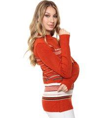 sweater naranja nano