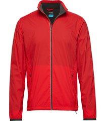 mens incline windbreaker outerwear sport jackets röd icebreaker