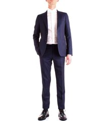 corneliani 827z82-8868150 dress men bluette