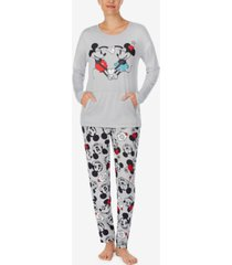 disney mickey & minnie mouse pajama set
