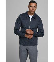 jack & jones 12179856 sweat jacket phil grey melange jack jones