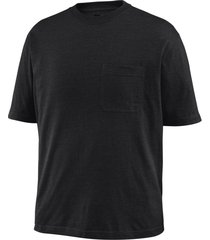 wolverine men's knox short sleeve tee (big & tall) black, size xlt