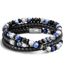 men's john hardy men's classic chain triple wrap bracelet