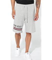 shorts in felpa taglio vivo