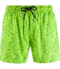 john richmond drawstring swim shorts - yellow