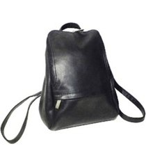 """royce 10"""" tablet backpack in colombian genuine leather"""