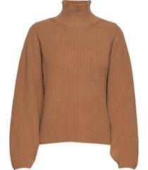 iw50 33 portmaniw pullover turtleneck coltrui bruin inwear