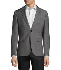 astian-hets slim-fit wool jacket