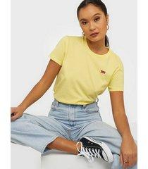 levis perfect tee lemon meringue t-shirts