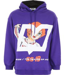msgm attacker you hoodie